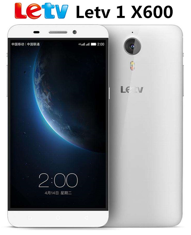 Original Letv One 1 X600 Mobile Phone 5.5 Inch Android 5.0 Helio X10 Octa Core Cell Phone 3GB RAM 32GB ROM 13.0 MP Smartphone(China (Mainland))