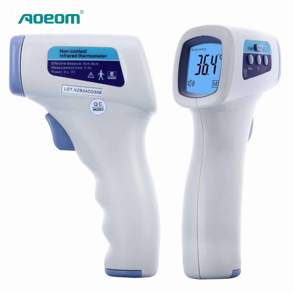 Household Health Monitor Thermometer , Non Contact Digital Multi-function Laser Infrared IR Forehead Thermometers Gun(China (Mainland))
