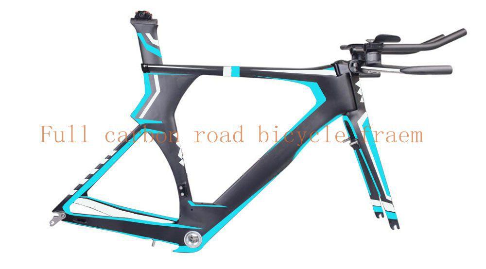 2016 High performance oem carbon tt bike frame carbon frame Time Trail carbon triathlon frame(China (Mainland))