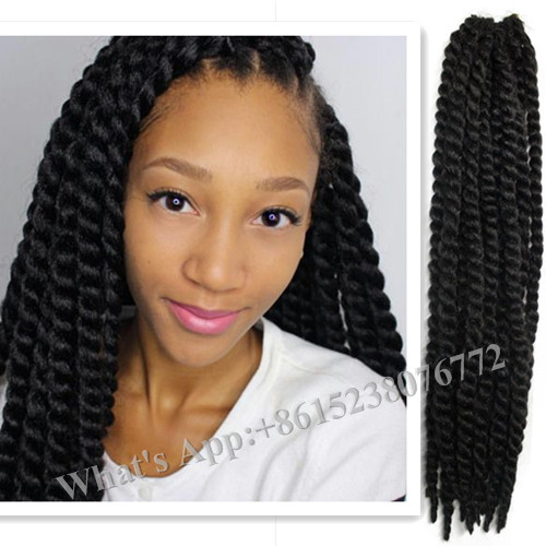 ... crochet 24inch Jumbo Havana Twist 1B new from Reliable hair braid clip