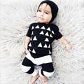Summer Styles Baby sets baby short shirt full pants 2pcs boys girls tracksuit Kids Casual set
