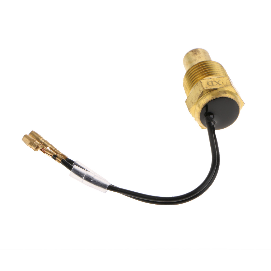 12V-24V Car Truck Digital Water Temp Temperature Sensor Head Plug Water Temp Gauge Meter Sensor