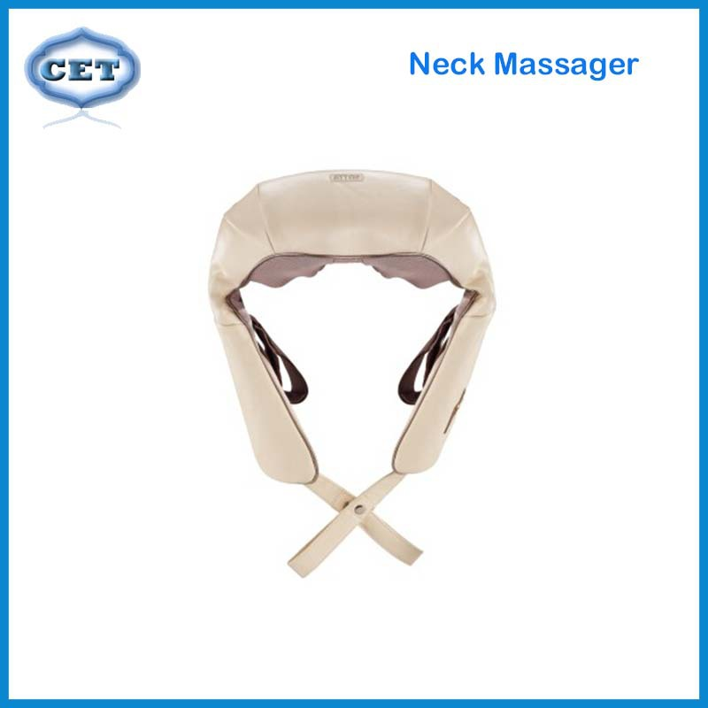 Neck Massager With 8 Unique Massage Head Kneeding Electronics Massager Intelligent Control Masajeador F-EASY(China (Mainland))