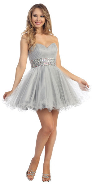 Collection Cheap Silver Dresses Pictures - Klarosa