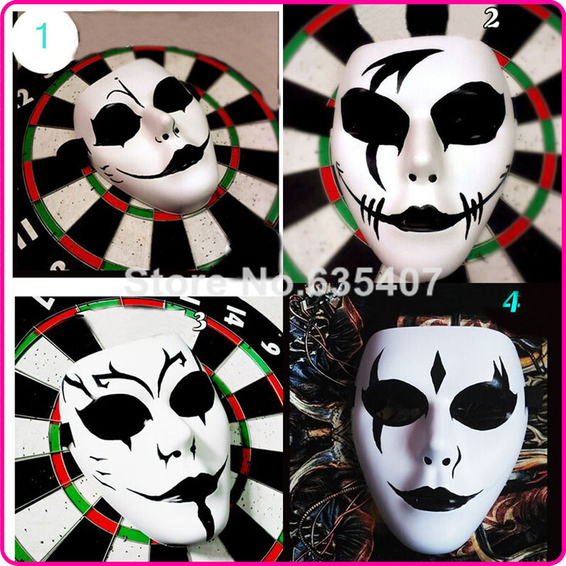 Hand-painted Jabbawockeez Mask PVC Hip Hop Dance Mask(China (Mainland))