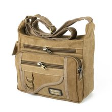 2016 European and american style Multifunction Men's Messenger Retro Canvas shoulder Bags Sports Leisure Tooling Package
