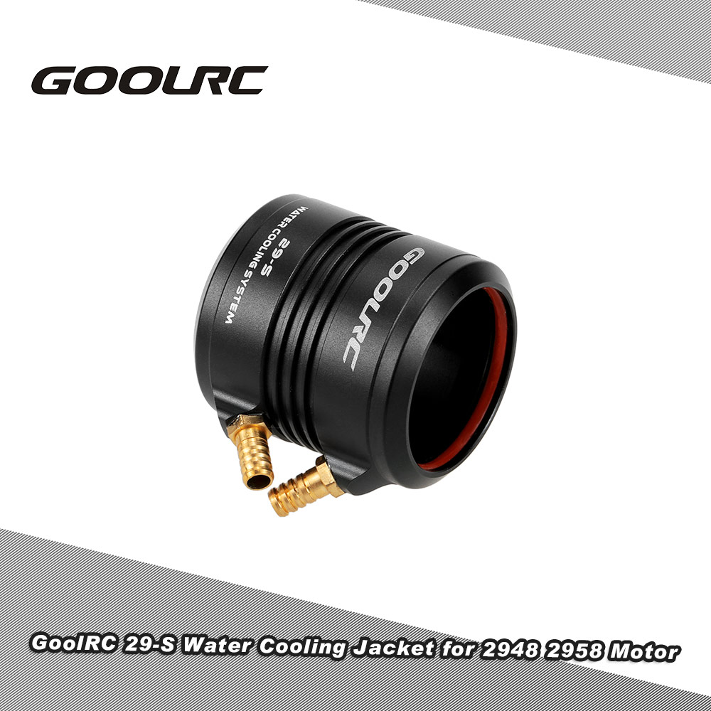 Original GoolRC Aluminum 29-S Water Cooling Jacket Cover for 2948 2958 RC Boat Brushless Motor(China (Mainland))
