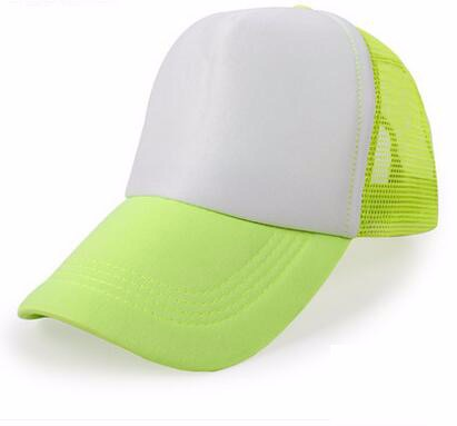 Fluo. green and white