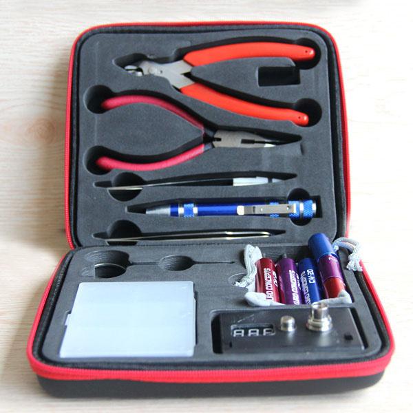 3Pcs Magic stick CW tool coil vape Complete kit E-cig master 6 IN 1 DIY jig vape tool kit PE Box ecig rda tool kit(China (Mainland))