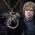 2015 vintage jewelry As Game of Thrones Targaryen dragon pendant necklace best souvenir gift for fan
