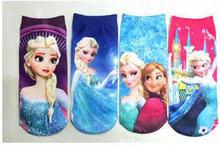 Freeshipping 2015 new children clothing Cartoon  frozen socks socks children socks