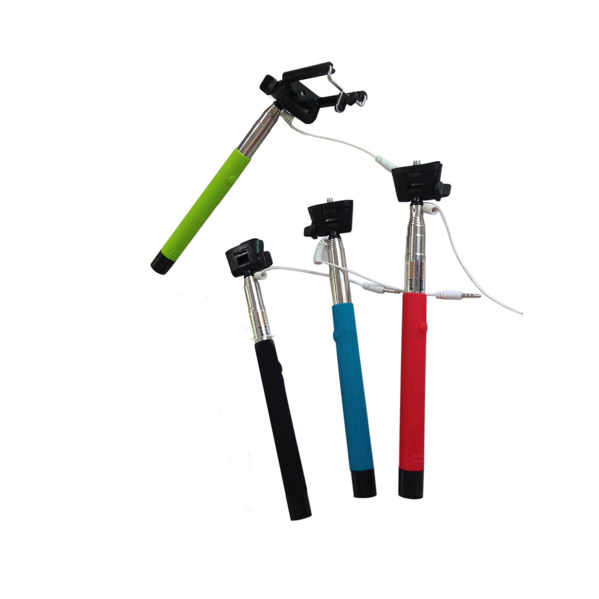 buy z07 5s extendable handheld monopod wire cable stick take photos with holder. Black Bedroom Furniture Sets. Home Design Ideas