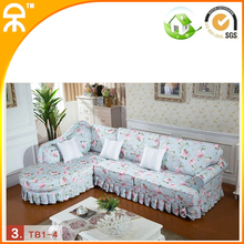 (1 chaise lounge +3seat)modern china sofa set for shop #CE-8060B(China (Mainland))