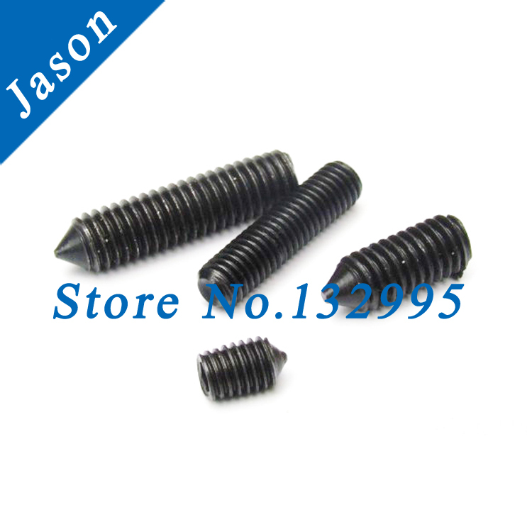 M8*8  Alloy steel Grade 12.9 DIN914 Hex Socket Set Screw With Cone Point Grade 12.9 DIN914  M8*L<br><br>Aliexpress
