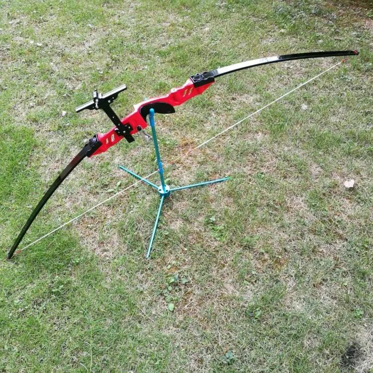 """HTB1OgjONFXXXXXdXXXXq6xXFXXX8 - 53"""" 30lbs 40lbs Takedown Straight Bow Longbow Recurve Bow Outdoor Hunting Bow Gym Archery Target Shooting Practice Game Bow"""