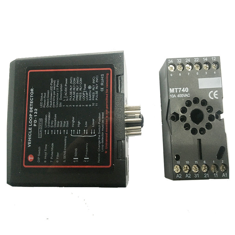 220V NEW Traffic Inductive Signal Control Loop Vehicle Detector PD132 For car packing system(China (Mainland))
