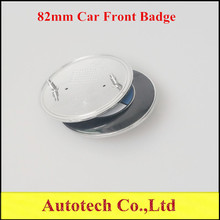 Car Styling Bonnet Badge 82mm White & Blue Car Badge Emblem Best Quality For  M3 M5 X1 X3 X5 X6 E36 E39 E46 E30 E60 E92(China (Mainland))