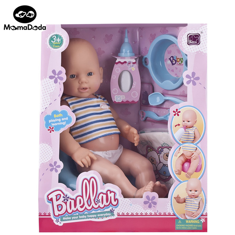 bebe reborn doll kit toys set for girl baby born interactive simulation baby bjd dolls silicone babies born accessories bath toy(China (Mainland))