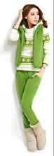 Hoodies Sweatshirts Winter  New Arrive Thick Print Sport Suit Outwear Coats .2015 Women Cotton Regular Hoodies Plus Size(China (Mainland))