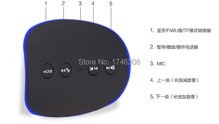 touch-screen bluetooth speaker in supper quality bluetooth speaker Jacky new design radio internet Shipping from shenzhe(China (Mainland))