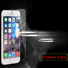 500pcs for iPhone 6 plus 5 5 5 5inch Explosion Proof Premium 9H 0 3mm tempered