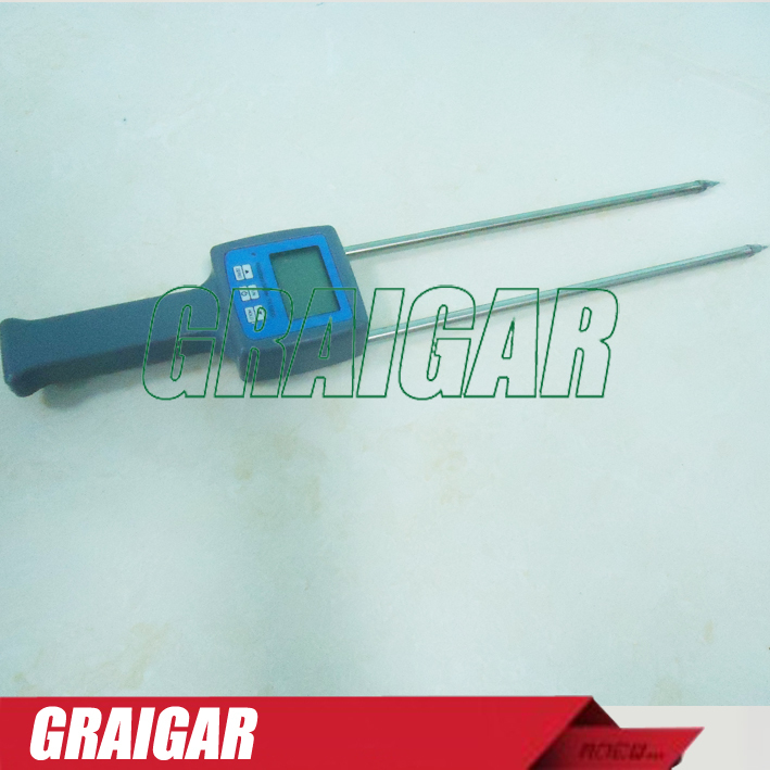 Digital long probe TK100W Wood Sawdust Powder Moisture Meter tester 0-80% hygrometer<br><br>Aliexpress