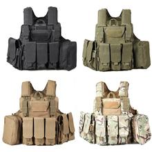 Molle Military Tactical Vest Ciras Vest Hotsale! + Tough Material+ Outdoor Neccessary, Color: CP, ACU, Amy Green, Black