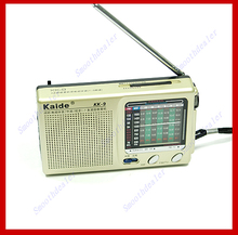Kaide KK-9 TV FM AM SW1-7 Compact Pocket Radio Receiver High Quality