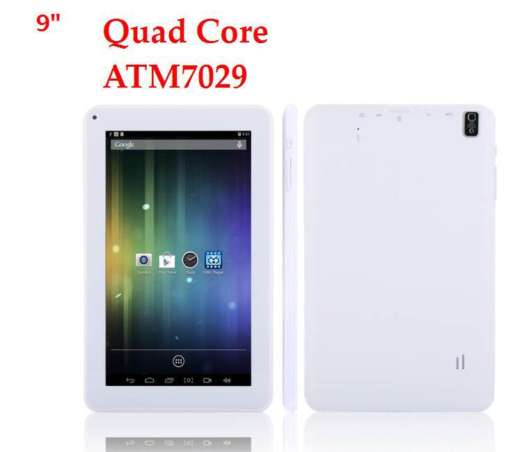50%DISCOUNTS!!! ATM7029 Quad Core HDIMI 8GB HD picture Tablet Pc Supporting more than 40 languages! flashing light!(China (Mainland))