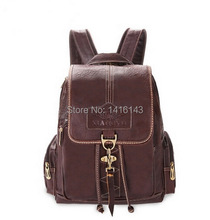 Women fashion backpack leather backpack crocodile grain bags Travel bag