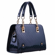 Fashion Women Plaid Bags Designer High Quality Leather Shoulder Bag Ladies Bling Chain Handbags Herald Sac a Main Casual Totes(China (Mainland))