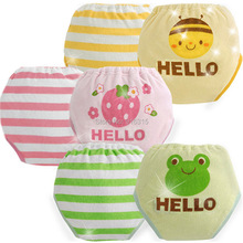 Hot New 2 pieces 6 layers Baby Boy Girl Diapers Training Pants Pants Infant Underwears Nappies