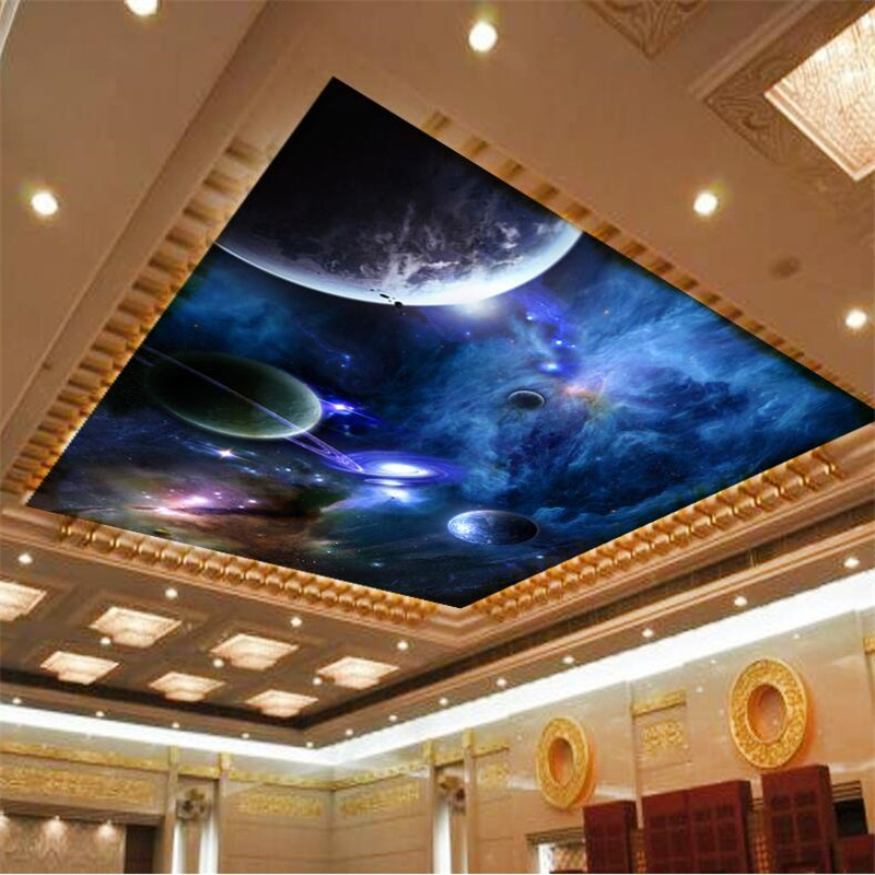 Buy wallpaper 3d murals star planet for Mural 3d wallpaper