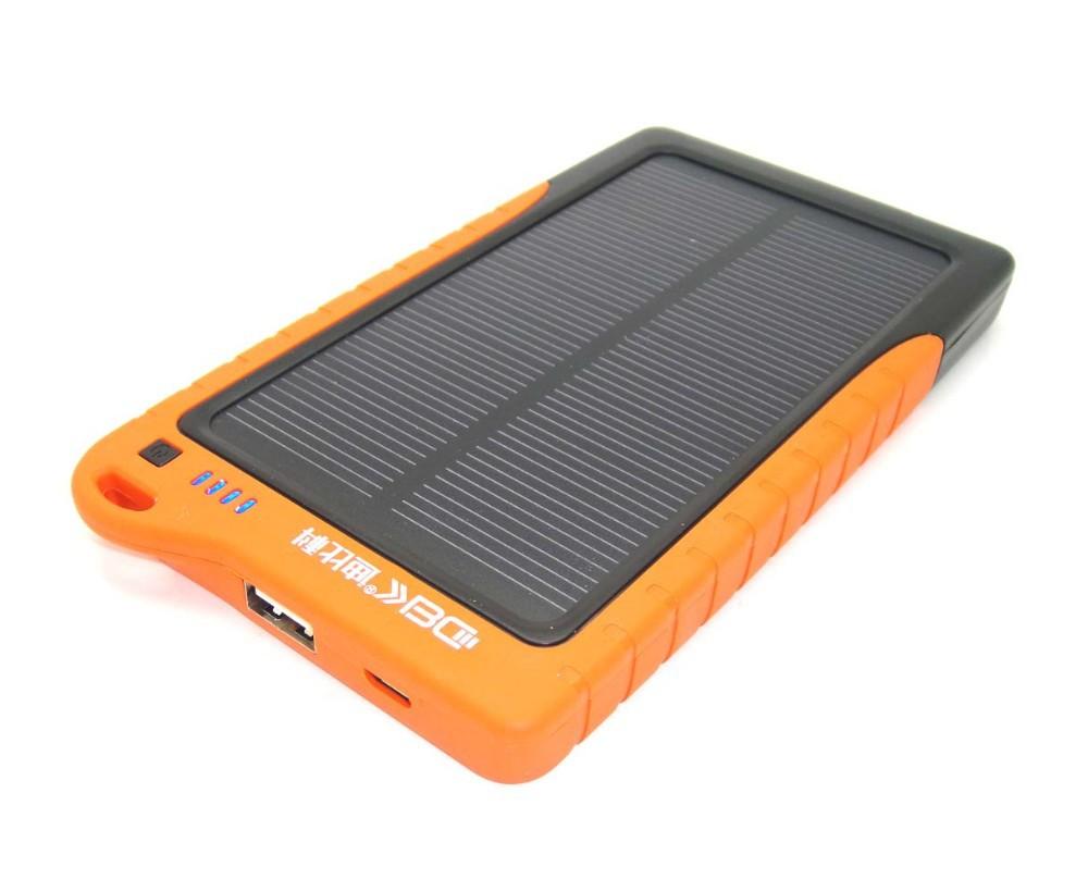 Promotional Solar Charger 7200mah Power Bank Solar Panel