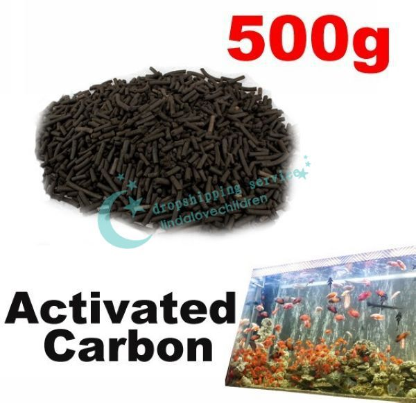 Efficient Practical Pond Reef Aquarium Filter 500g Activated Carbon Filtration Hot Drop Shipping/Free Shipping Wholesale(China (Mainland))