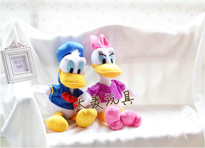 55cm 1pcs Genuine Donald or Duck Daisy Duck doll plush toy children's Day gifts , christmas gift free shipping(China (Mainland))