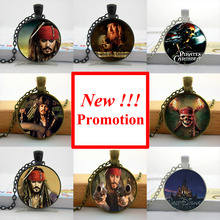 Buy NS-00457 New Fashion Pirates Caribbean Necklace Film Jewelry Glass Cabochon Necklace Pendant for $1.05 in AliExpress store
