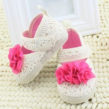 Buy Fashion Newborn Toddler Baby Girls Shoes Flower Princess Soft Sole Infant First Walkers Crib Shoes 0-18Months F3 H2 for $2.87 in AliExpress store