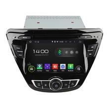 Cortex A9 Quad Core 1.6G CPU 16GB Flash HD 1024*600 Android 5.1.1 Car DVD Player Radio GPS Navi Stereo for HYUNDAI Elantra 2014