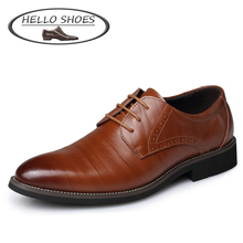 2015 Fashion British Style High Quality Genuine Leather Men Oxfords, Lace-Up Business Men Shoes Wedding Shoes, Men Dress Shoes(China (Mainland))