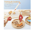 Japan Fun Multifunctional Fishing Family Games Kids Fishing toys Play House Toys Pretend Play for children
