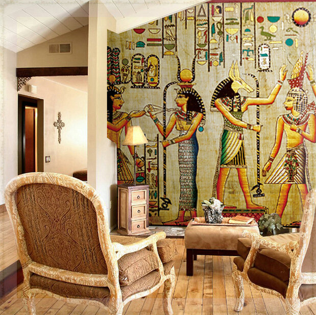 Customized any size murals photo 3d wallpaper retro for Mural wallpaper vintage