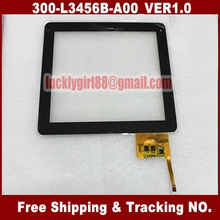 9.7 inch Prestigio Touchscreen Replacement Digitizer Touchscreen Glass for Hapad X10 X2 Tablet PC MID 300-L3456B-A00_VER1.0