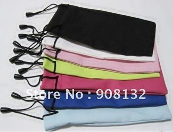 wholesale for glasses case/sunglasses pouch/cell phone pouch various colors and designs for selection