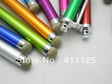 Capacitive Screen Metal Stylus Pen Touch Pen HD For Cellphone Tablet PC 10000pcs/lot DHL Fedex Fast Free Shipping(China (Mainland))