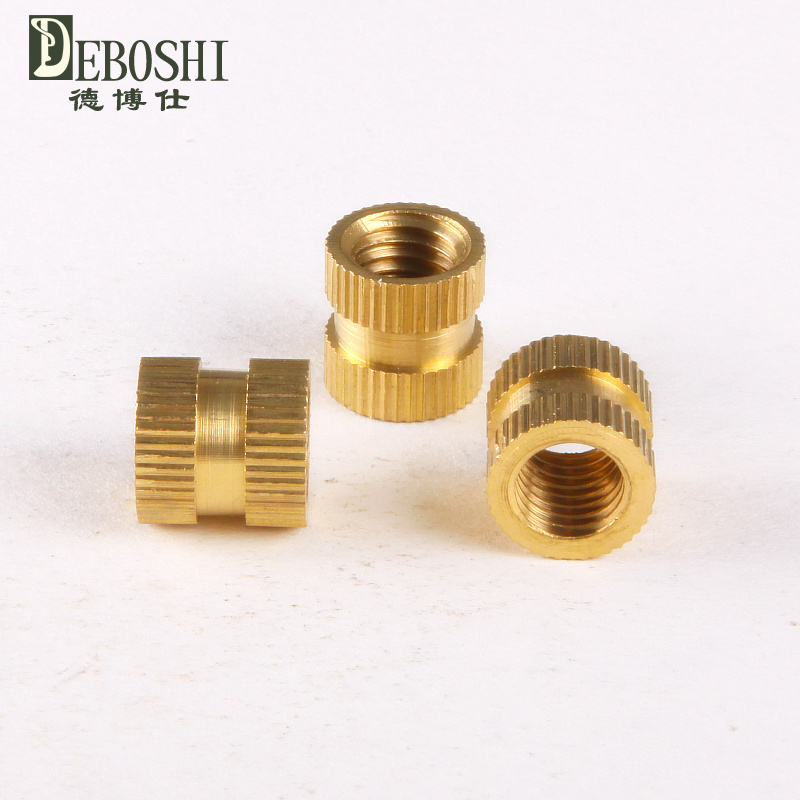Copper inserts / Inserts / embedded copper / copper flower mother / cylindrical knurled nut M2 * 4-3.5<br><br>Aliexpress