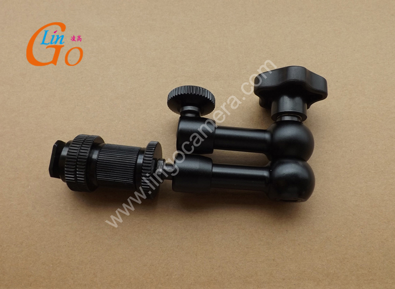 "Small size about 7"" Articulating Magic Arm Shoemount for LCD DSLR Camera LC2410(China (Mainland))"