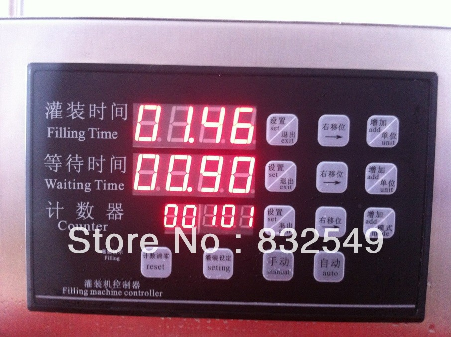 wholesale price+Factory direct shampoo shower gel detergent/ motor oil/ honey /syrup/ liquid filling machine(China (Mainland))