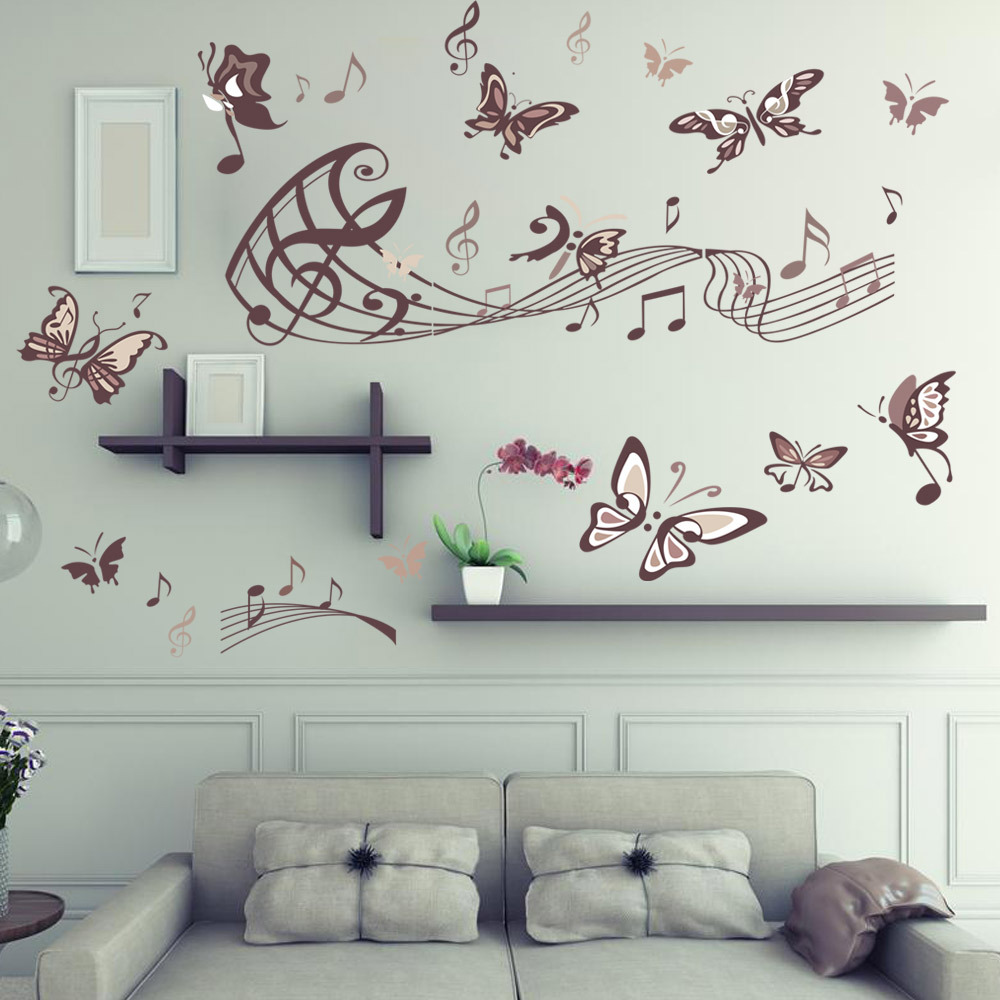 Wall Stickers Decoration Artistic Wall Decal Living Room Decoration Wall Art Decals Home Decor In Wall