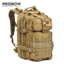 34L Men Outdoor Sports Camping Backpack Military 3P Assault MOLLE Bug Out Small Rucksack Hunting Army Combat Travel Climbing(China (Mainland))